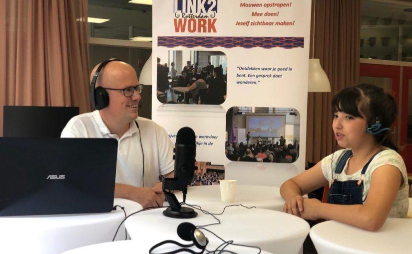 Stichting Link2Work iedere woensdag podcast op het RDC